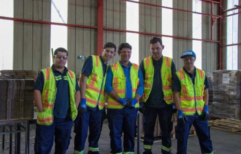 forografía de trabajadores CMPC